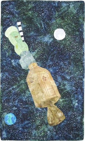 Apollo-Soyuz by Kerry A Faraone