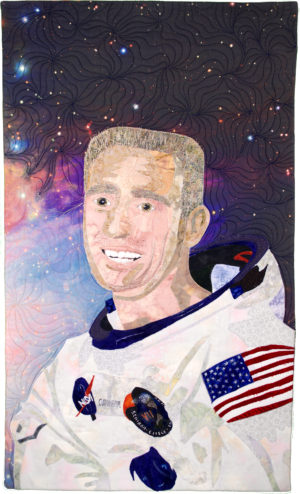 Astronaut Ronnie Walter Cunningham by Jeanne M Knudsen
