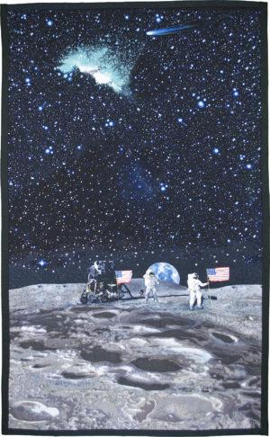Descartes Highlands, Apollo 16 by Marijke Van Welzen