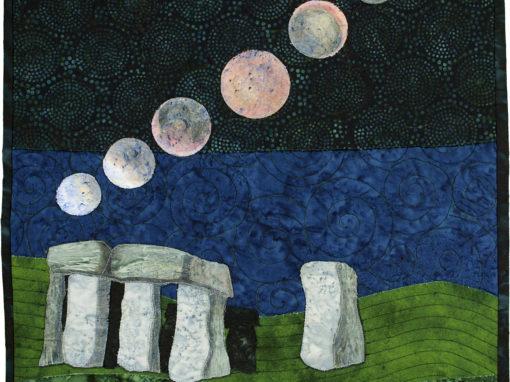 Eclipse Over Stonehenge