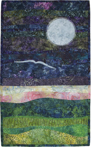 Mondnacht (Moonlit Night) by Elizabeth W. Zobel