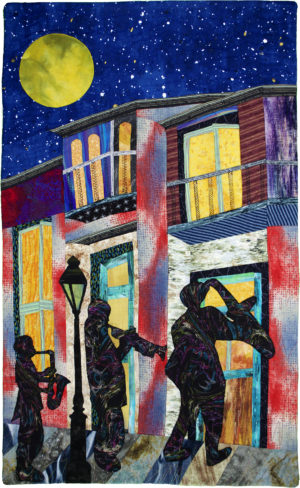 Moon Over Bourbon Street by Mary Ellen Simmons