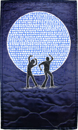 Moonlight Groovin' by Sandy Snowden