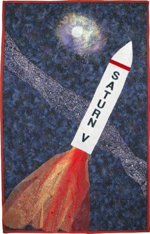 Saturn V by Kris A. Bishop