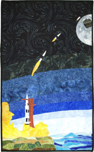 The Voyage of Saturn V from Earth to the Moon by Diane M. Podgornik