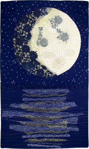 The Waxing Gibbous Moon by Emma Griffen